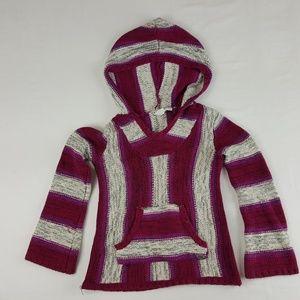Roxy Girl Girls Hoodie Sweater Multicolor Size Sma